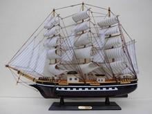 60CM Mini Wooden Fishing Ship Model for sale