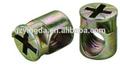 Venda quente c 6*11mm nylon insert porcas para ligação de madeira e suporte para fixaçar yd-04
