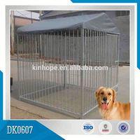 Large Foldable Chian Link Dog Kennel