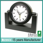 promotion suppliers office desk alarm clock without battery