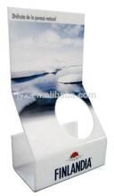 Acrylic wine bottle holder for wine bar acrylic bar display