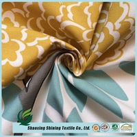new collection cotton woven canvas printed fabric