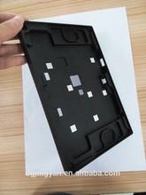 High precision aluminium doordell with black anodized