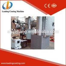 glass metallic /metallizing coating machine