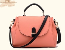2014 Bestselling classic imitation leather handbags single shoulder aslant multi-function female bag