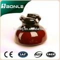 Elétrica isoladores de porcelana, isolador tipo pino ansi 55- 3, isolador de alta tensão
