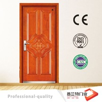 Apartment steel mdf security door PLT-A73