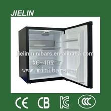 40litres low cost mini bar with LED light fashion mini refrigerator