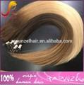Venta caliente baratos ombre la extensión del pelo/ombre tejidos de pelo
