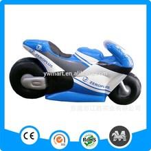 Promotioanl eco-friendly plastic ride on toy motorbike