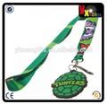 TMNT tartaruga ninja cordino portachiavi supporto con bonus fascino e titolare id
