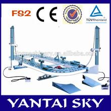 FS2 hot sale! Auto body collision repair system/alat berat