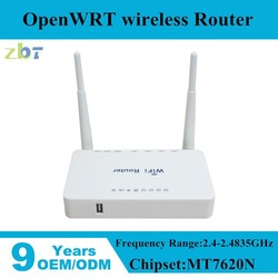 Dual fixed 5dBi antenna 300Mbps VPN openWRT Wireless Router