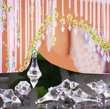 Top Quality Clear Acrylic Crystal Bead Pendant Wedding Chandelier Curtain Decor