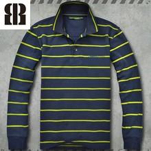 Bemme long sleeve men polo t shirt plain organic cotton t-shirts
