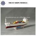 recipiente de barco modelo de material de resina para venda