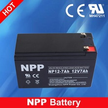 12V 7AH Sealed Lead Acid Storage Battery High Rate Rechargeable Battery 12v 7ah