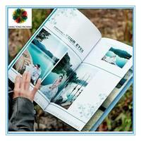 OEM printing travel magazine with high quality