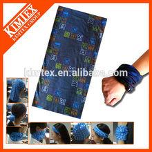 latest new design digital print custom polyester microfiber head kerchief