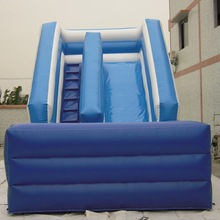 inflatable pool water slide