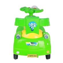 PP plastic type assembling kids swing cars new model cheap kids swing car