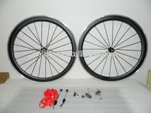 with aluminum braking surface carbon wheels,carbon alloy wheelset 50mm