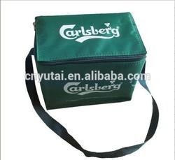 dark green soft thermostat bag cooler bag for travel use (YT-CB0138)