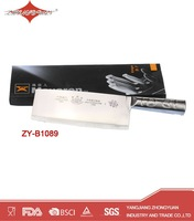 Best quality stainless steel Chinese chef knife with ss handle