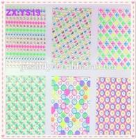 Wholesale Sticker Supplier Sell Rose Flower Nail Art Paper Sticker