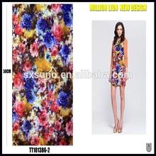 China textile shiny hot sales smooth soft handfeel satin jacquard fabric
