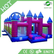 Commercial inflatable bouncy castle,air jumping bouncer,jumping castles inflatable water slide