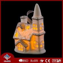 Hot-selling advertising indoor christmas village scenery