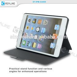 for ipad mini 3 360 degree pu leather case,new design leather case for ipad mini 3
