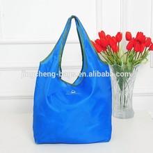 reusable portable shopping folding nylon tote bag