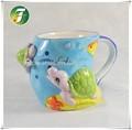 Ceramic clay cup