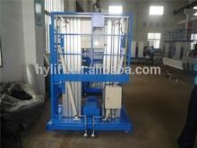 Hydraulic Aerial lift equipment / aluminum lift platform
