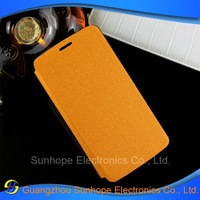 Wholesale high-grade sands grain PU leather flip mobile cell phone case for LG D690 G3 Stylus 5.5