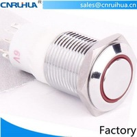 Best quality low price miniature push press button switch