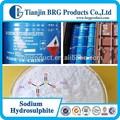 Fabricante de suministro directo hidrosulfito de sodio 85,88, shs 90 fabricante