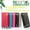 Colorido 20000 mah externo universal del banco portable de la energía, Externa portátil manual para OEM banco de potencia