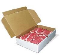 Tuck Top Corrugated Mailing Boxes for Frozen Beef Meat
