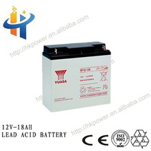 2015 Christmas Decoration Rechargeable long life oem 12v 18ah battery