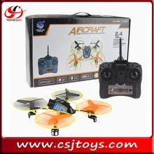 Good quality 2.4Ghz 4 Axis RC quadcopter flying UFO with gyro remote control drones