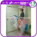Hi divertenti gonfiabili costume, cavallo costume gonfiabile
