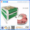 speed high efficiency ladies shoes/leather/PU laser cutting machine (wanted good buyer)