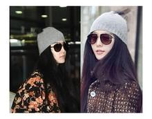 Fashion Knitting Wool Hat Women Keep Warm Winter Beanie Beret Braided Crochet knitted Hats Cap
