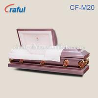 Casket Price Funeral Purple Rose(CF-M20)