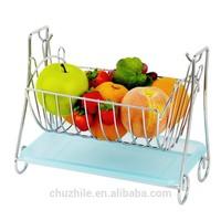 ChuZhiLe the little bear shape wire fruit basket AB-555