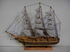 60CM Small Wooden Sailing Boat Model Toys