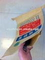 Reciclar 25kg 50kg bolsa de cemento precio/de polipropileno bolsas de cemento con papel kraft
